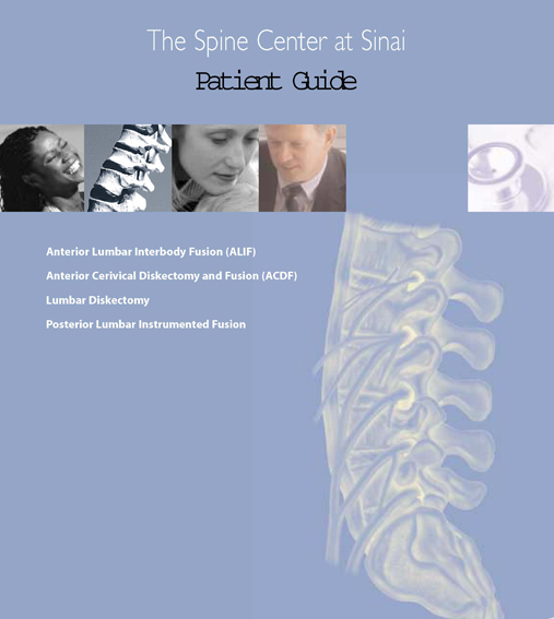 BSI spine center patient  guide