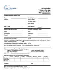 Adult Application