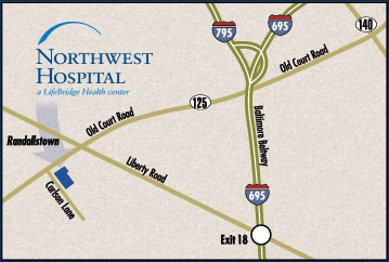 Directions to Northwest Hospital