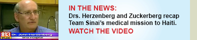 Team Sinai featured on local broadcast news